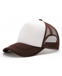 Gorra Trucker Marron