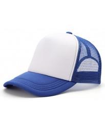 Gorra Trucker Azul Francia Sublimable con tu Logo