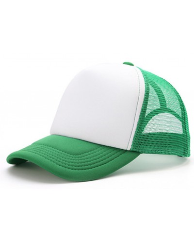 Gorra Trucker Verde Sublimable con tu Logo